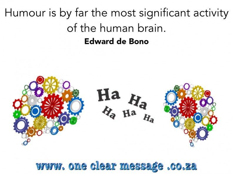 HI - Humorous Intelligence a business skill
