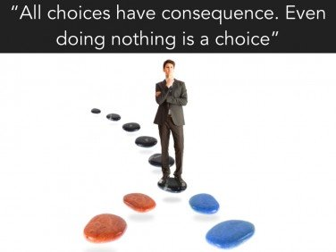 The power of choice in success