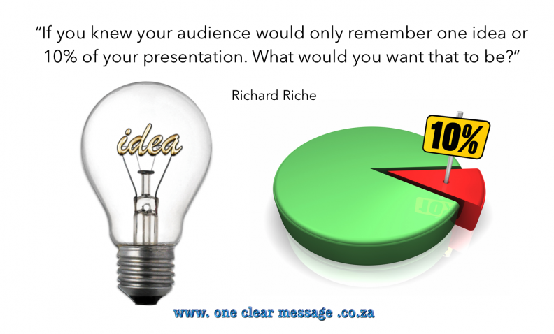 remember ten percent pecha kucha presentations