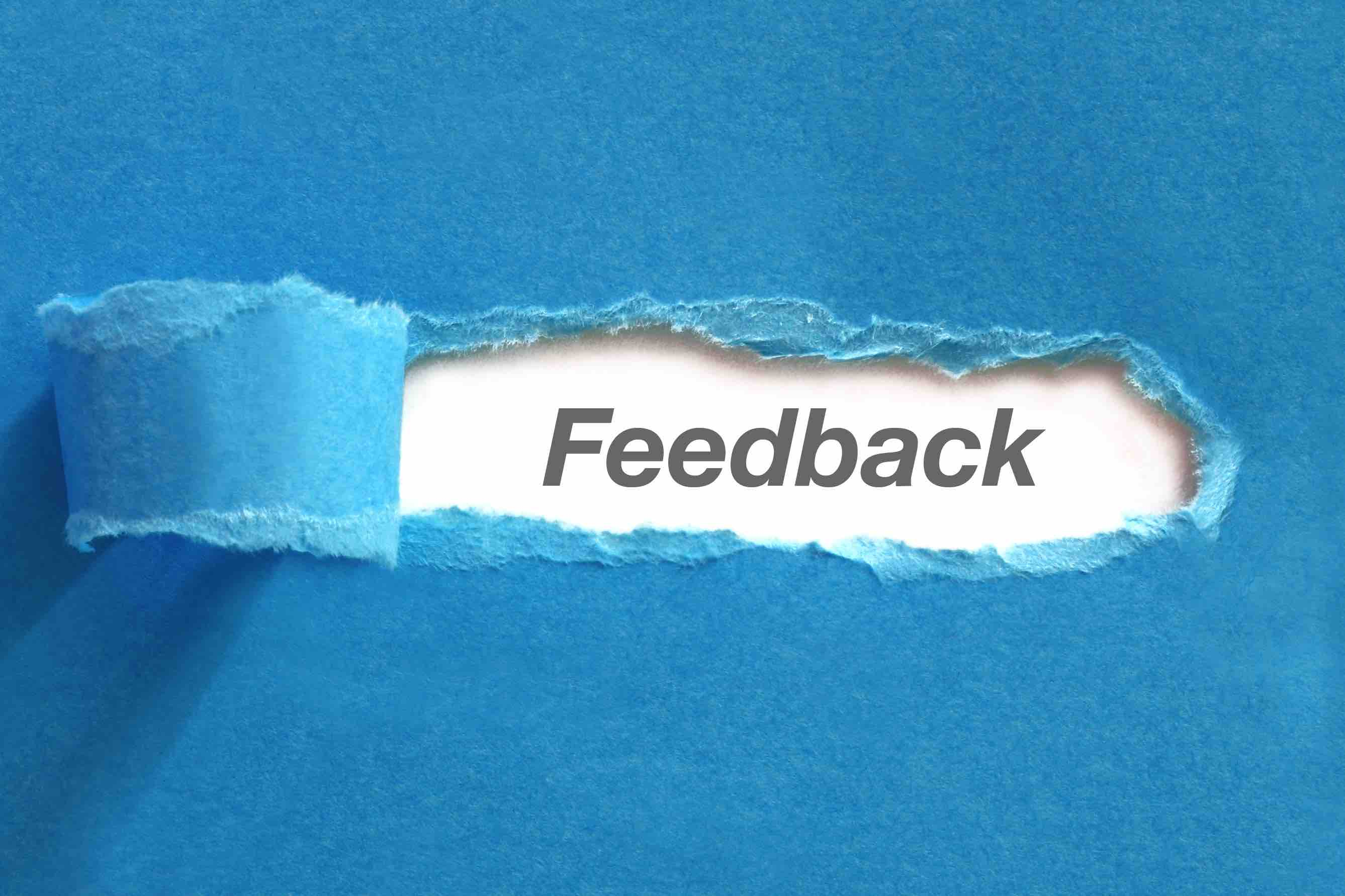 not all feedback is equal Feedback training skills
