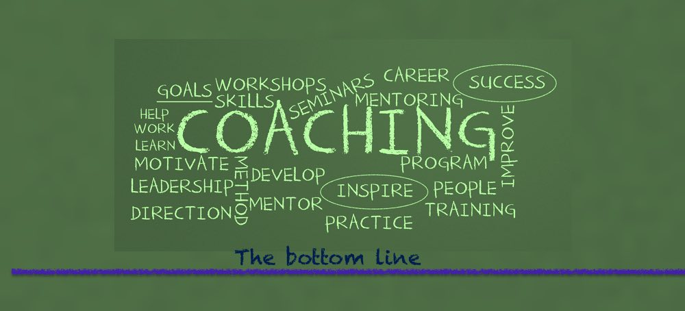 Business coaching and mentoring the bottom line