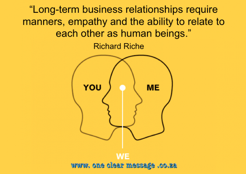 The link between Business and Dating - empathy
