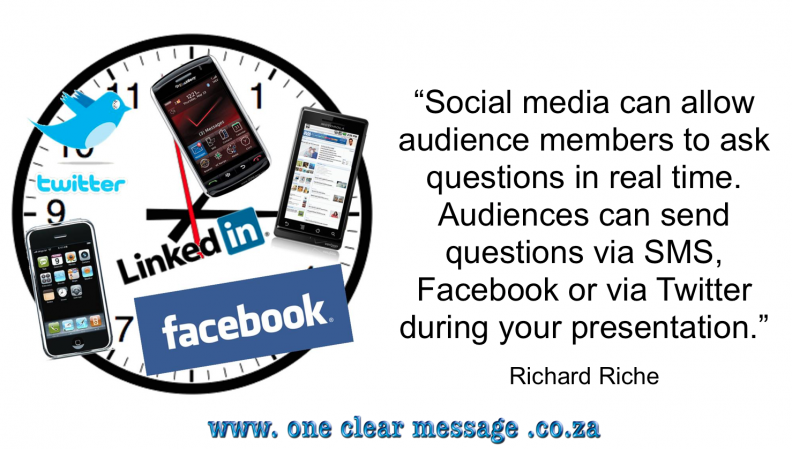 Presentations in the Social Media Age