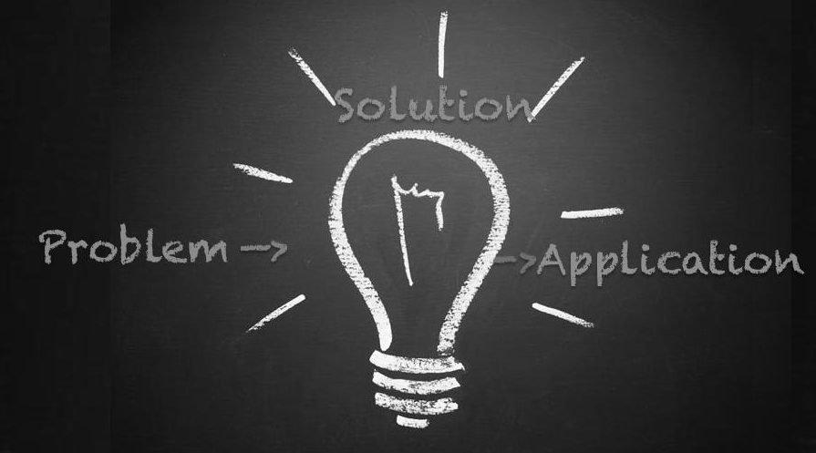 slide design problem solution light application