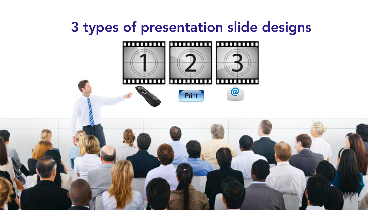 Slide design tips: presentation vs. handout slides