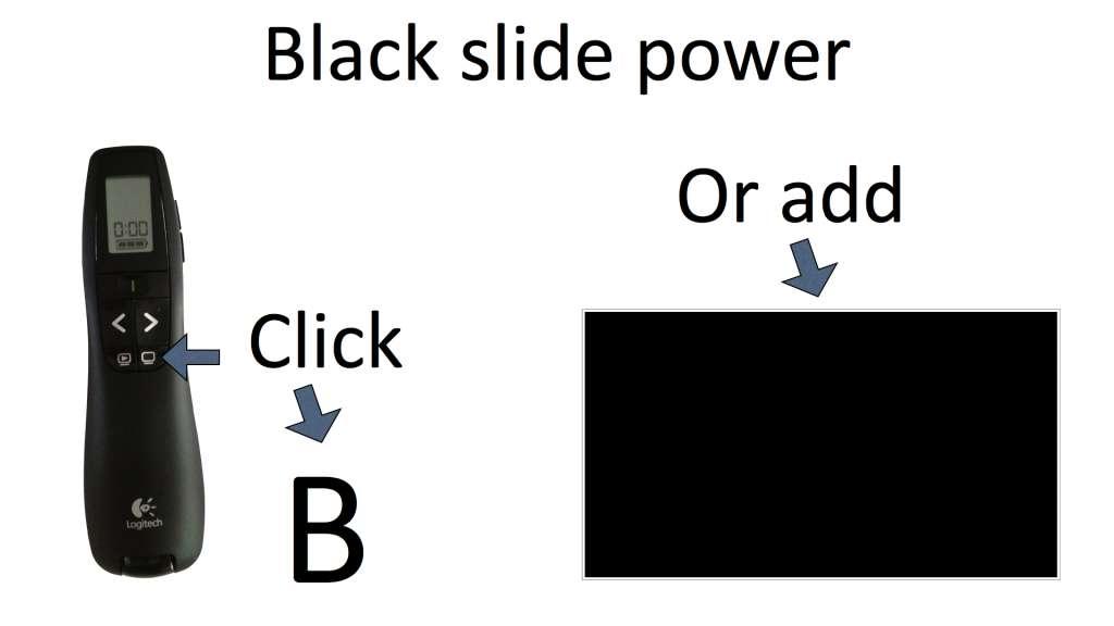 Black slide power slide design