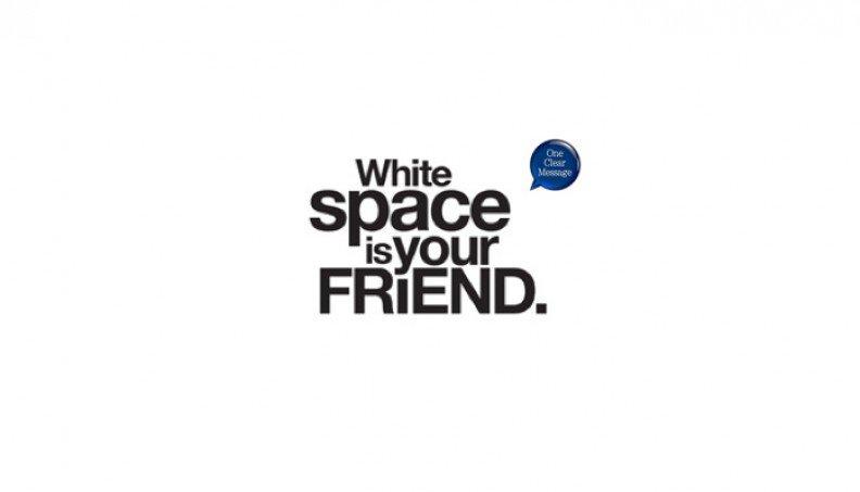Slide design tips: white space