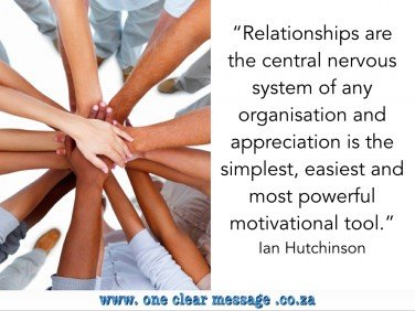 Relationships central to any organisation 4 key drivers of employee engagement