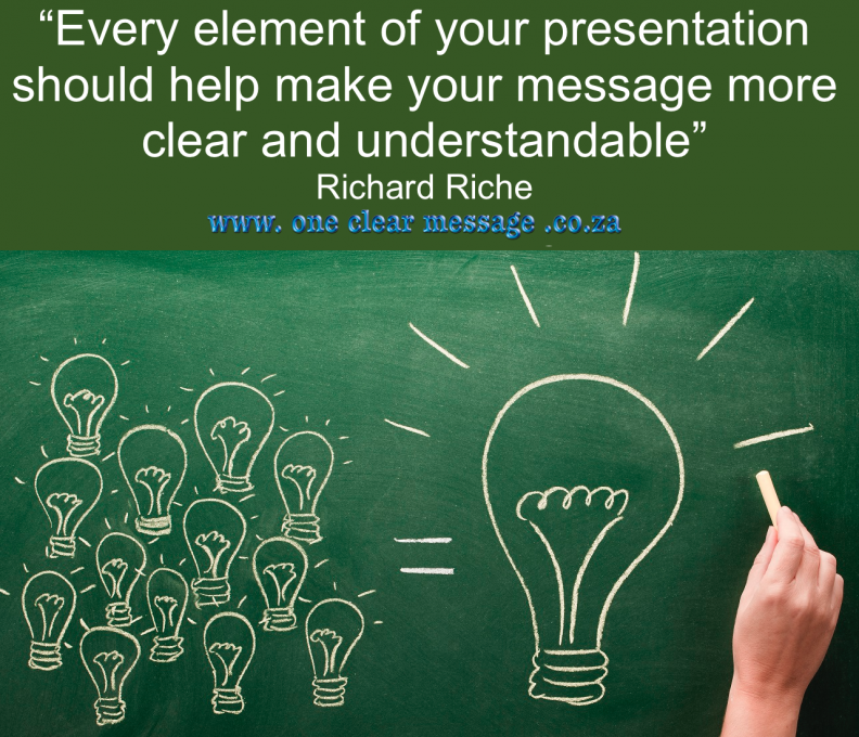 Powerful presenter tips make each idea count