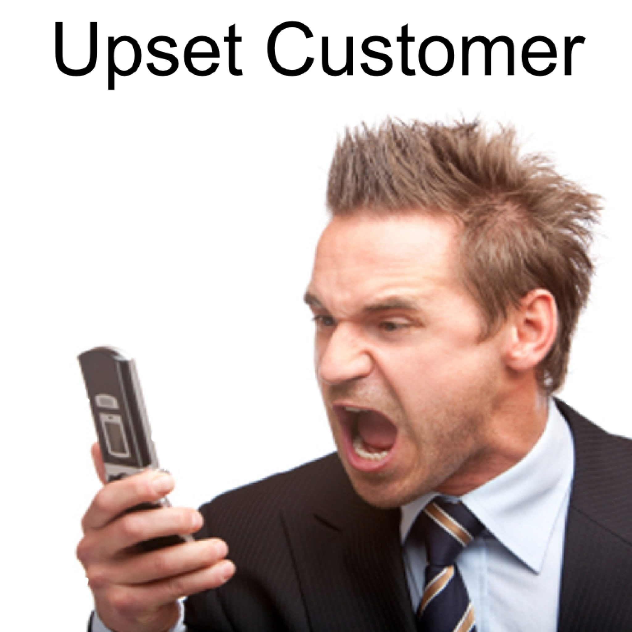 Winning over upset customers