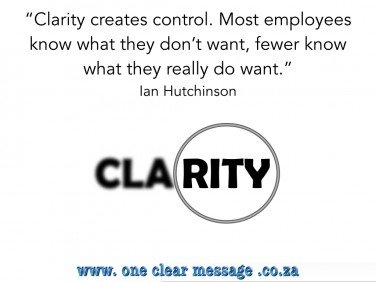 Discover what you want - Hutchinson Fuzzy communication a business disaster