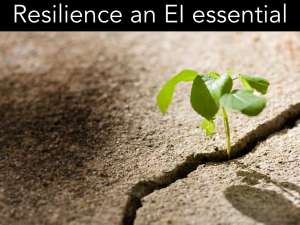 Resilience EI essential