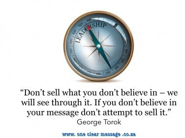 Sell what you believe in - Torok Intrinsic Motivation 3.0