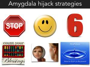 strategies to handle amygdala hijack