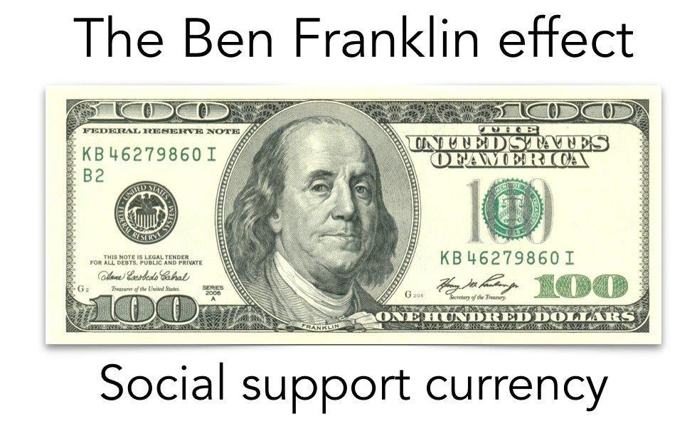 Ben Franklin social support