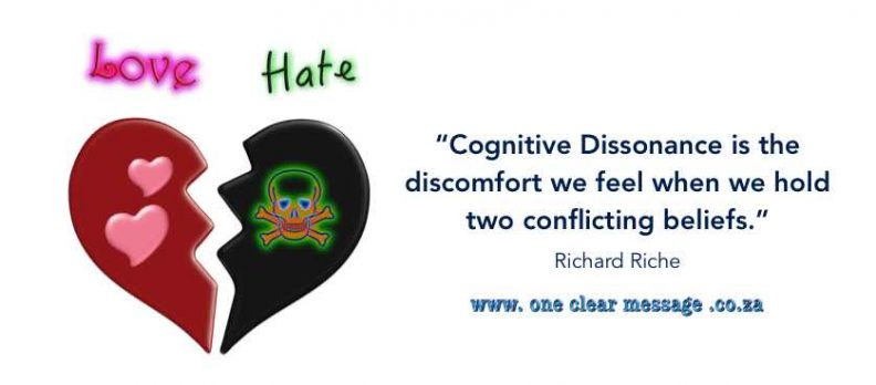 Cognitive Dissonance from conflicting beliefs EQ skills