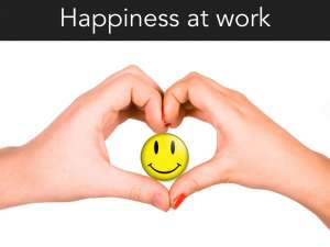 Be happier at work now