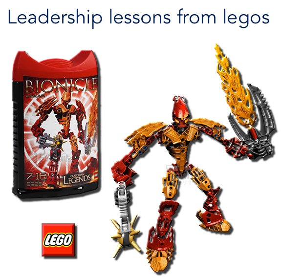 Leadership lessons from Legos