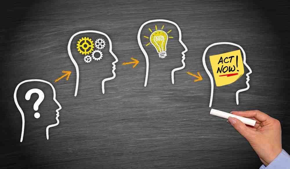 unpack ideas call action debrief