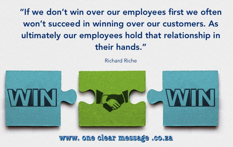 strategy communication get employee buy in to engage customers