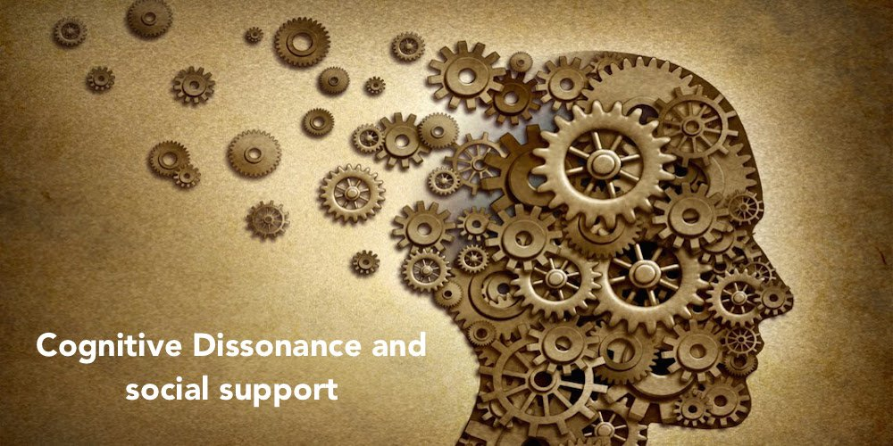 Cognitive Dissonance and social support