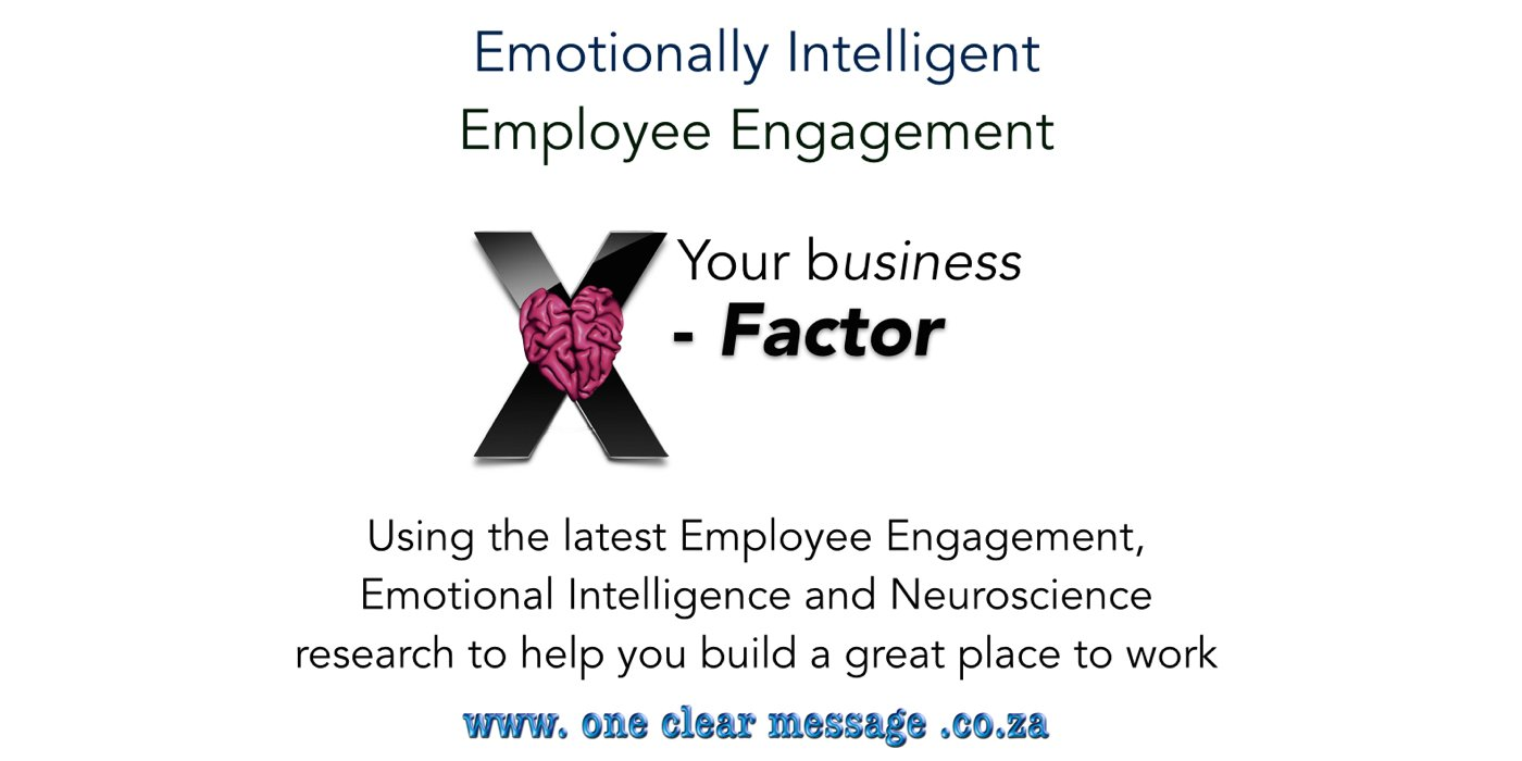 Emotional Intelligence Skills - the Employee Engagement X-factor