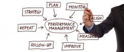 Performance management process to embed culture