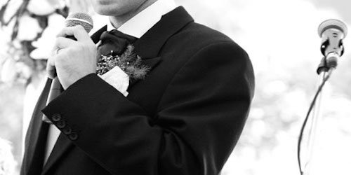 Tips for the wedding Master of Ceremonies (MC)