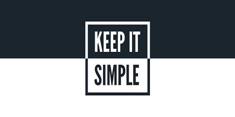 keep it simple Slide design tips Think Billboard