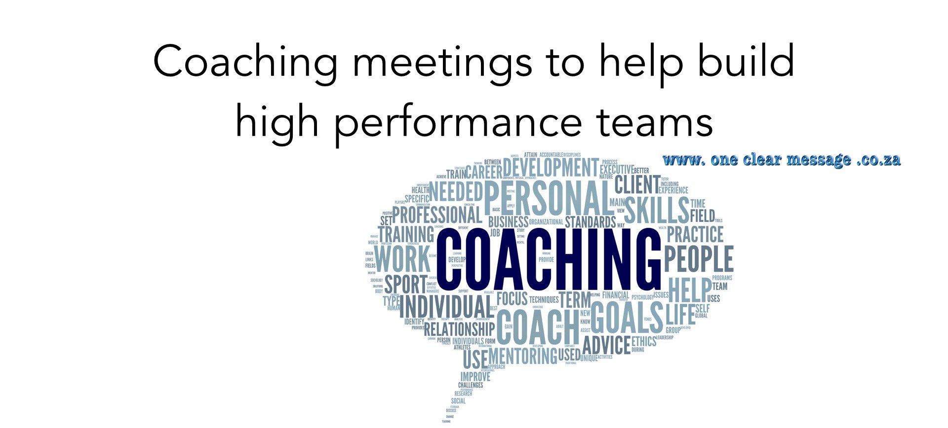 Peer coaching meetings