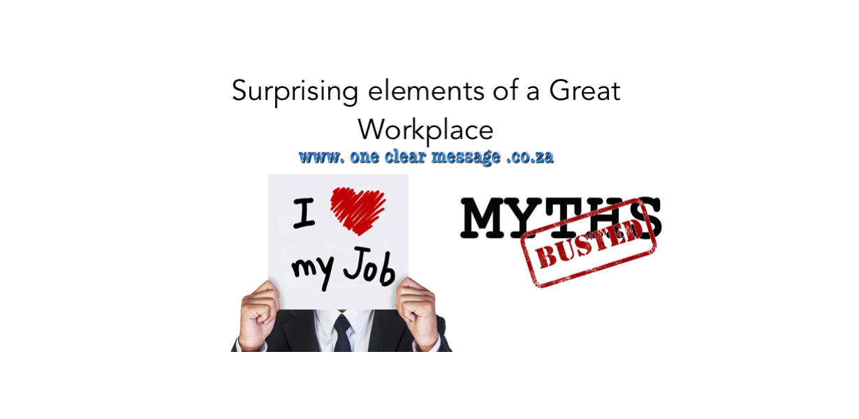 surprising elements of a great workplace