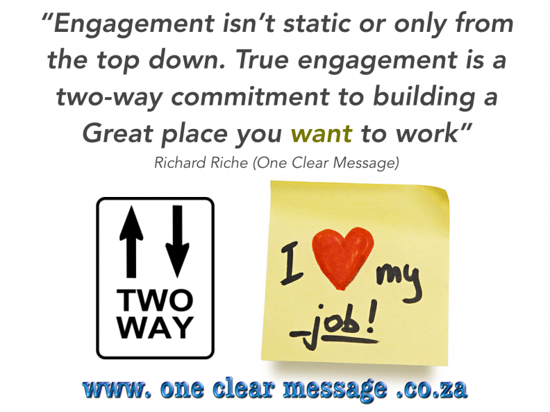 improve your personal Employee Engagement levels