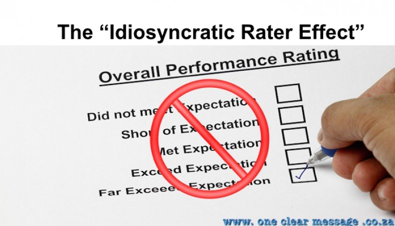 The perils of poor performance rating