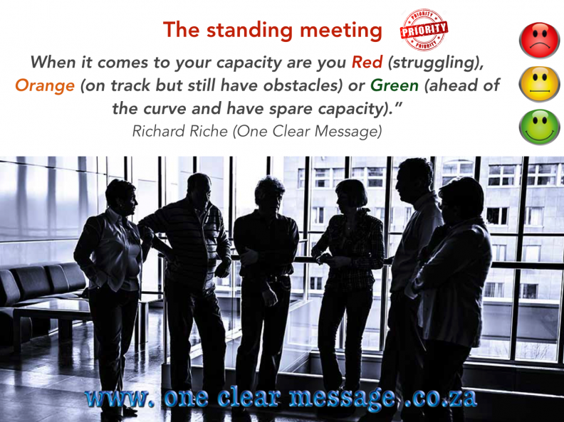 End boring meetings with the standing meeting