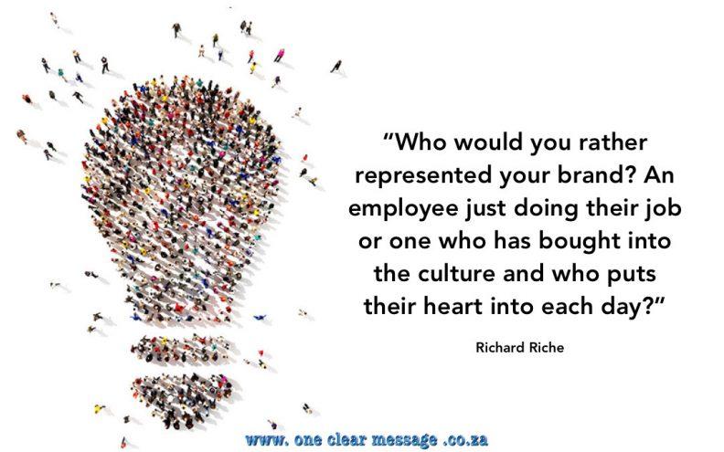 brand culture core values