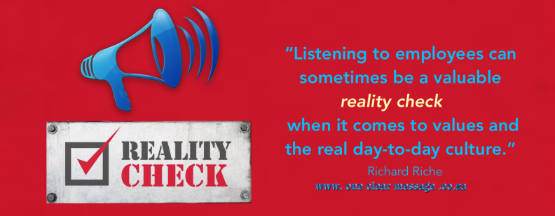 reality check listening to employees