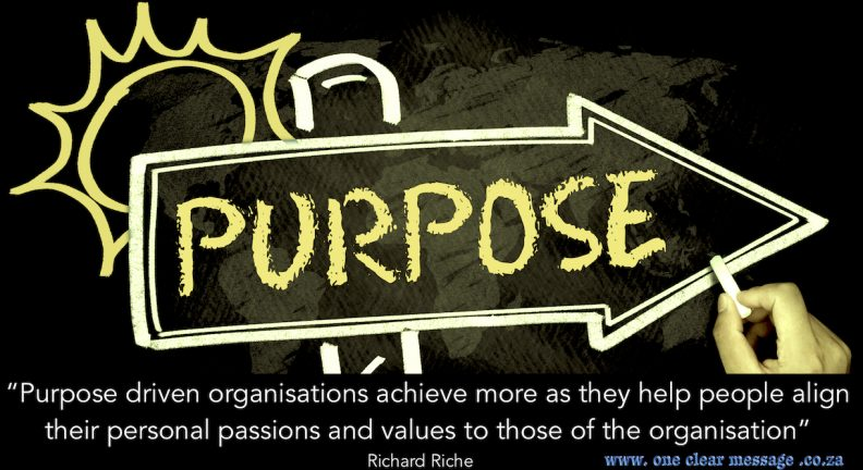 purpose driven organisation