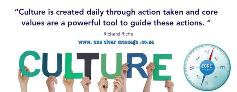 culture daily action core values guide