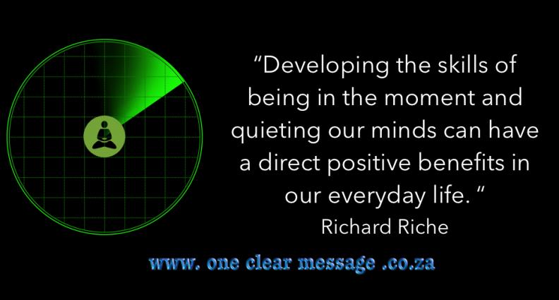 Mindfulness awareness radar