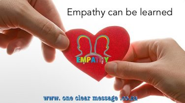 empathy can be learned