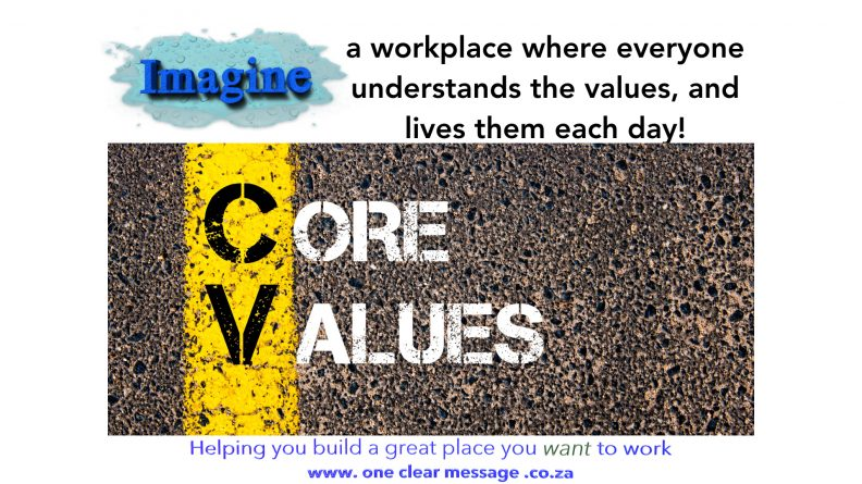 imagine live vaues ocm performance coaching