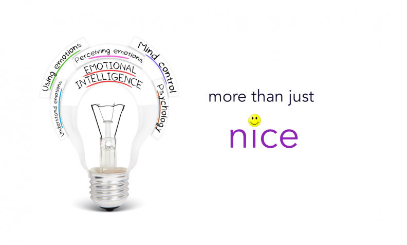 emotional intelligence more than nice and compliant