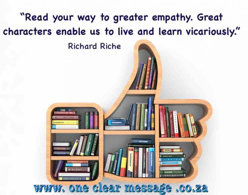 reading a great way for developing empathy