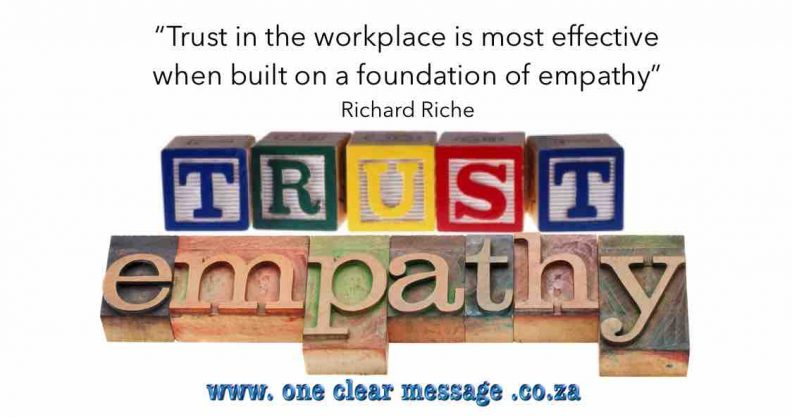 trust empathy is such a critical leadership skill