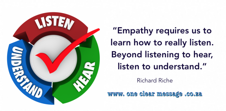 listen to understand empathy emotional intelligence skills