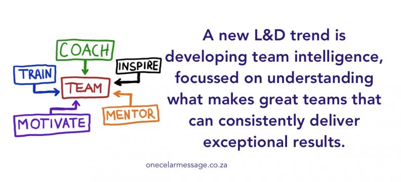 Employee experience team development