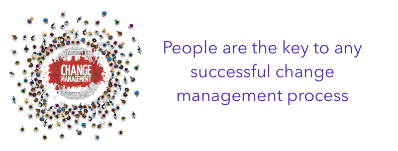 People are the key to any successful change management process
