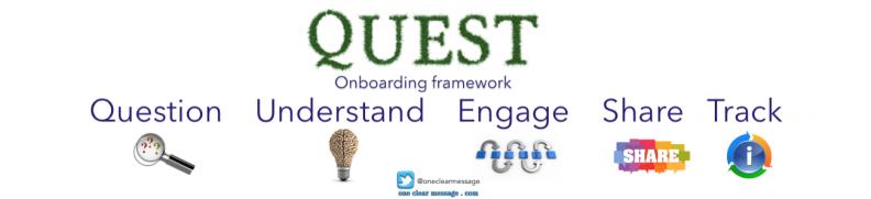 QUEST onboarding framework