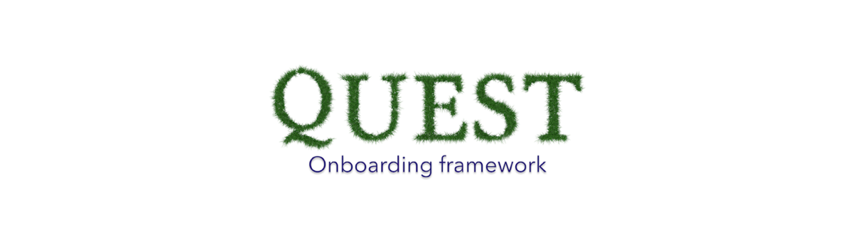 onboarding experience through the QUEST framework