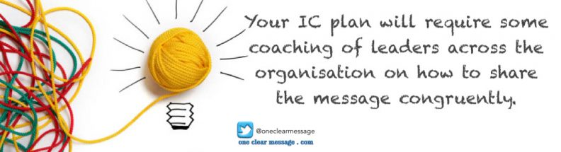 Your IC plan will require some coaching of leaders